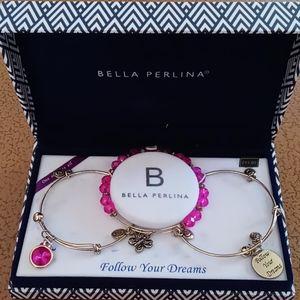 Bella Perlina Charm Bracelets Boxed Set